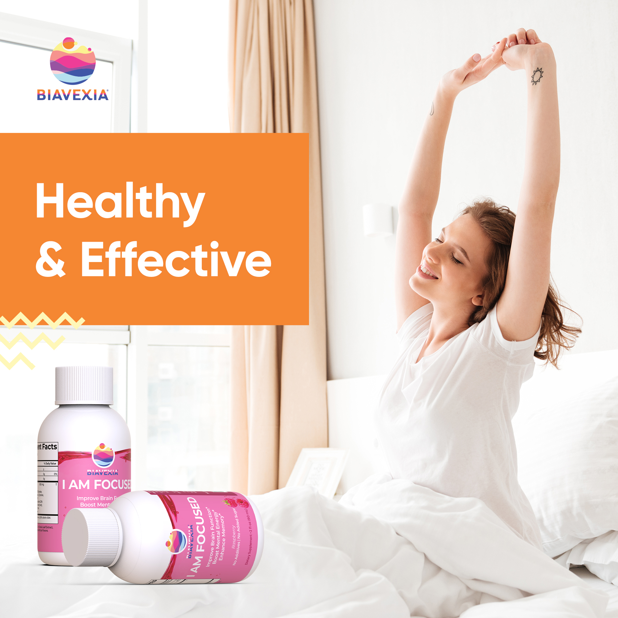 Biavexia-I Am Focused - Healthy Effective