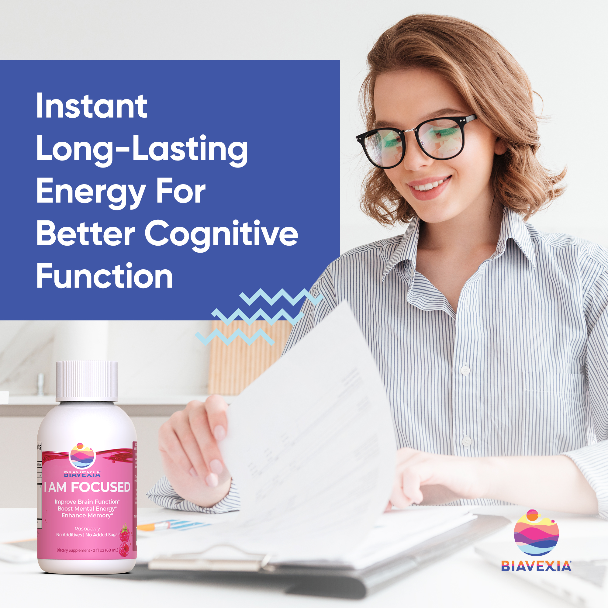 Biavexia-I Am Focused - Long Lasting Energy