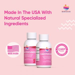 Biavexia - I am Focused - Made In USA