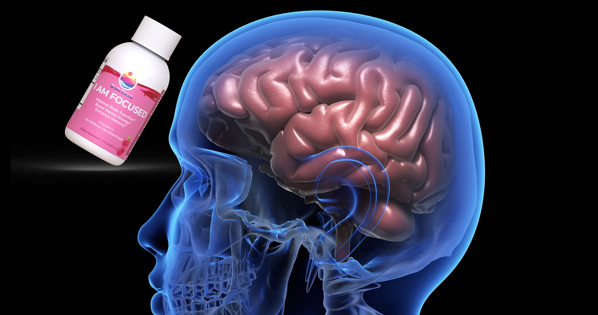 Brain Booster With Biavexia I AM Focused